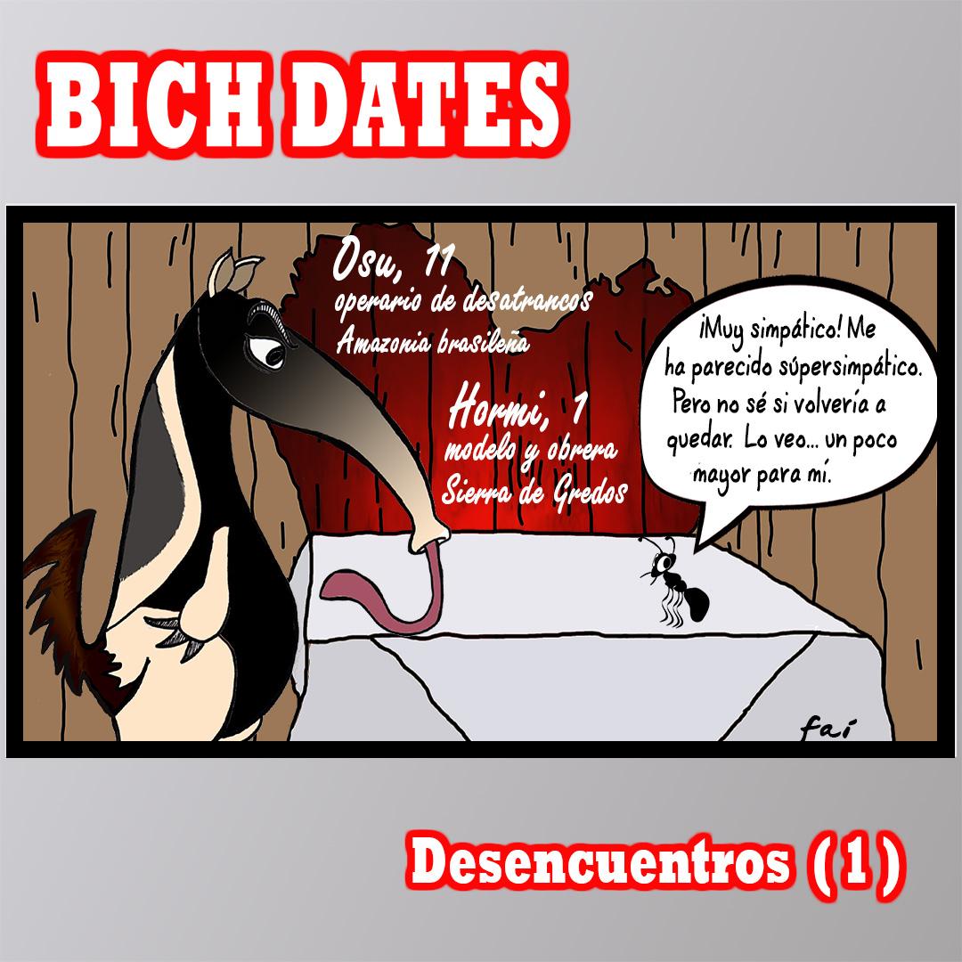 BICH DATES – Desencuentros (1) – De hormigas y hormigueros