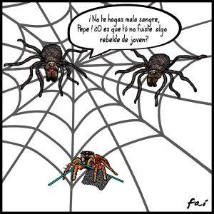 La rebelión de las arañas